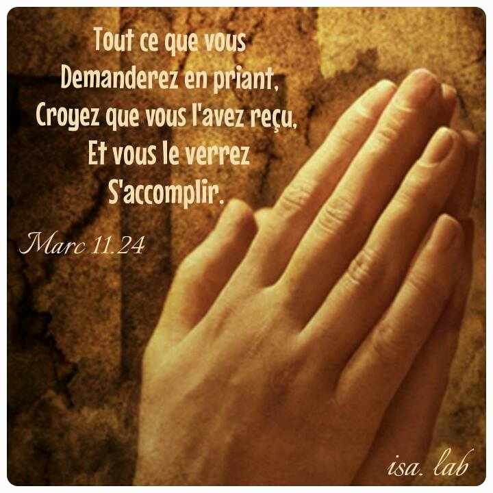 CROIRE ET PRIER AVEC FOI/ BELIEVE AND PRAISE WITH FAITH